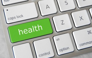Health written on left shift key of a keyboard